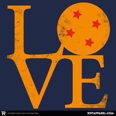 Dragon Love T-Shirt - Dragon Ball T-Shirt is $11 today at Ript!