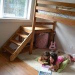 Adult Loft Bed Frame Adult Loft Bed - Bed & Bath