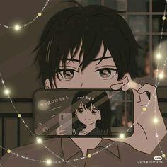 Cute Anime Profile Pictures, Matching Profile Pictures, Cute Anime Pics, Match Profile, Matching Pfp, Matching Icons, Kawaii Anime Girl, Anime Art Girl, Dark Anime Girl