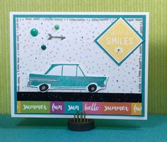 Show and Tell, with Michelle: June 2016 Stamp of the Month Blog Hop ~ The Long Way Home