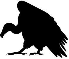 buzzard silhouette clip art bing images sillouettes rh pinterest com Cartoon Buzzard buzzard clipart free