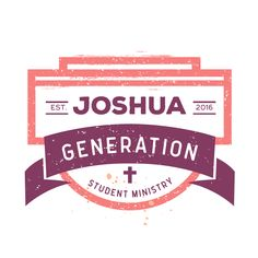 Joshua Generation Student Ministry - Youth Group Logos