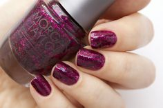Morgan Taylor - To Rule Or Not To Rule (with topcoat)