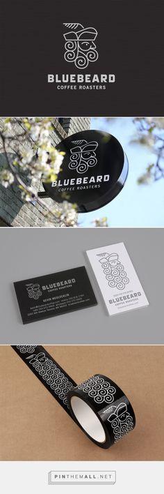 Seattle Branding & Design Firm | Bluebeard Coffee Roasters brand - created via https://pinthemall.net
