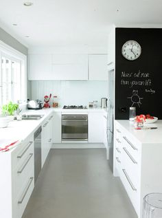 small space living/ great idea for condo kitchen remodel