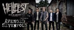 Avenged Sevenfold en Hellfest 2014 el 21 de Junio