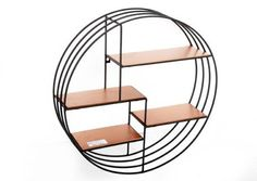 Black and copper wall unit <3 £30
