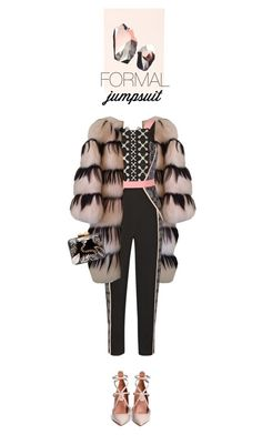 """Jumpsuit party hard"" by anna-razbitnova ❤ liked on Polyvore featuring mode, ferm LIVING, Missoni, Peter Pilotto, Aranáz, Valentino en DateNight"