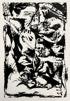 Jackson Pollock | Untitled (After CR#340) (1950) | Available for Sale | Artsy Arts Stream, Pollock Paintings, Paul Jackson, Lee Krasner, Art Fair, Abstract Expressionism, Abstract Art, Jewish Museum, Drip Painting