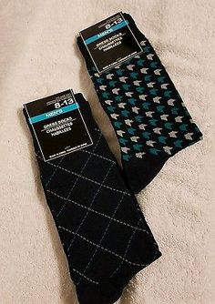 dc26f704bffc New 2 Pairs Men s Funky Fancy Design Flashy Dress socks 8-13 News 2