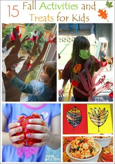 15 Fall Crafts for Kids - Crafts, Activities and Fall Recipes for Kids!