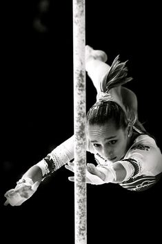 Viktoria Komova. Such an amazing angle to see this from!
