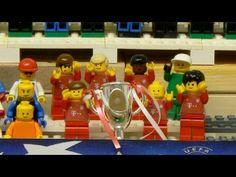 - Fútbol + Legos = Brutal -   Champions League: Bayern win the 2013 final - brick-by-brick fussball