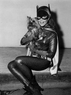 Yvonne Craig as the iconic Batgirl in the 1966 Batman Tv series. She will be missed, but her legacy lives on. Yvonne Craig, Batgirl, Batwoman, Batman 1966, Im Batman, Batman Robin, Superman, Batman Stuff, James Gordon