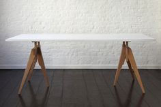 Matthew Hilton Compass Table: Remodelista for office?