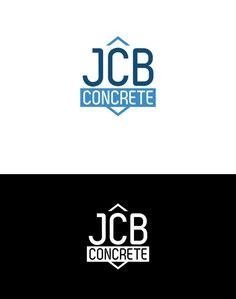 JCB Concrete - Logo Design/Branding by Vernon Tennant, via Behance