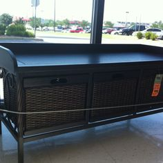 Front Entry Bench  Found this on clearance at Hobby Lobby!  Hoping to buy this for my house!