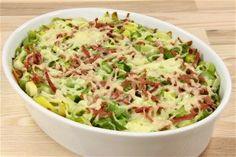 Porretærte fedtfattig Veggie Recipes, Diet Recipes, Cooking Recipes, Healthy Recipes, Broccoli Gratin, Good Food, Yummy Food, Danish Food, Low Calorie Recipes