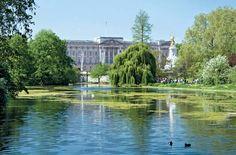 St. James Park with Buckingham Palace