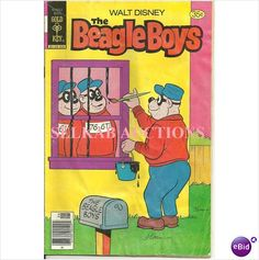 Walt Disney The Beagle Boys Comic #42 June 1978 Gold Key Comics on eBid Canada