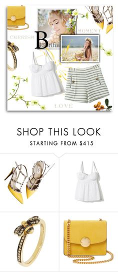 """""""Untitled #760"""" by mlka ❤ liked on Polyvore featuring Valentino, Annoushka and Marc Jacobs"""