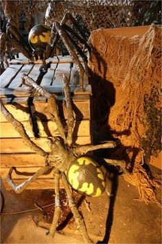 GIANT PROFESSIONAL SPIDER Halloween Decoration