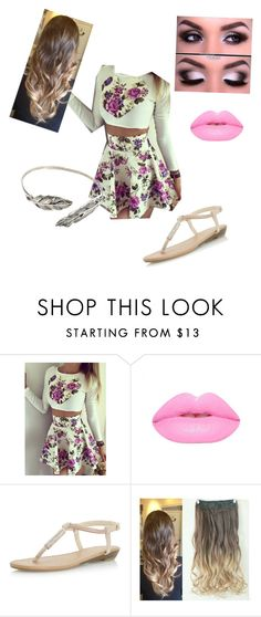 """Birthday Outfit!!!"" by amberjanik ❤ liked on Polyvore featuring Lime Crime and Dorothy Perkins"