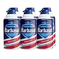Barbasol Original Thick and Rich Shaving Cream (Pack of - Gift Guru Gal Pretty much a cornerstone of slime making. We've gone through about a thousand cans of shaving cream. At least here you can buy six at a time. Vídeos Slime, Slime No Glue, Slime Kit, Diy Slime, Baby Girl Toys, Toys For Girls, Homemade Moon Sand, Making Fluffy Slime, Bath N Body Works