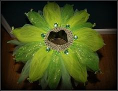 Tinkerbell tutu skirt green tutus little girl by Justforfuntutu