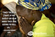 Woman Who Survived 5 Weeks in Boko Haram Camp Speaks for First Time - Open Doors USA Boko Haram, Persecution, Old Women, First Time, Christianity, Survival, Camping, 500 Days, Plantar