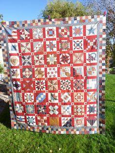 A Place to Share: Civil War quilt blocks