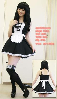 Sexy Maid Cosplay (2L) $20.00 http://thingsfromjapan.net/sexy-maid-cosplay-2l/ #maid cosplay #Japanese maid costume #cosplay