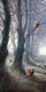 """""""November Days"""" by Jeremy Paul.Signed/numbered print at https://www.jumblebee.co.uk/countrysidelearningcharityartauction2017"""