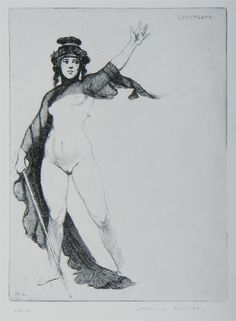 Buy online, view images and see past prices for LINDSAY Norman Rose Lindsay Bookplate - Lysistrata, Facsimile Etching Invaluable is the world's largest marketplace for art, antiques, and collectibles. Art Sketches, Art Drawings, Exotic Art, Organic Art, Art Africain, Art For Art Sake, Fantastic Art, Cartoon Art, Art Pictures