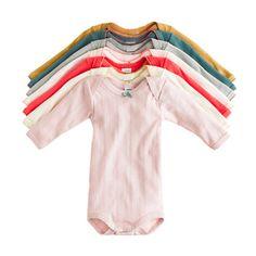 Baby Petit Bateau® bodysuit pack   Beautiful colors!