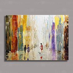 Peint à la main Abstrait Un Panneau Toile Peinture à l'huile Hang-peint For Décoration d'intérieur de 2016 ? €50.75