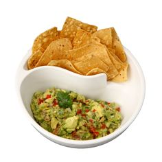 The ultimate way to eat chips and guac!
