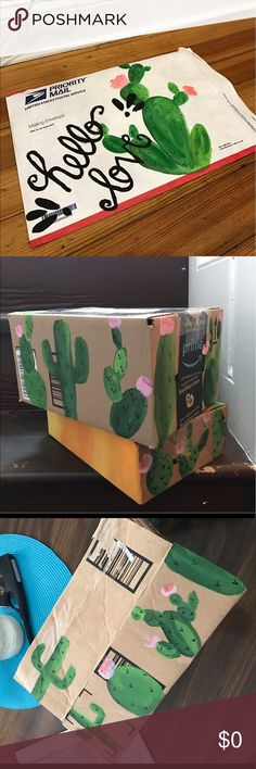MAKE ME AN OFFER!! Everything is negotiable!! Items come in hand painted boxes and envelopes Other