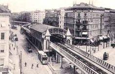 """1902 nach der Eröffnung als Bahnhof """"Oranienstraße"""" Berlin"""