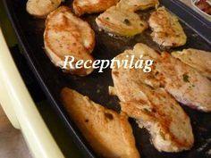 Csirkemell hagymás raguban (HOT PAN) - RECEPTVILÁG - Receptes oldal - receptek képekkel Hot, French Toast, Bacon, Breakfast, Morning Coffee, Pork Belly