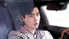 W–Two Worlds: Episode 1 Kang Chul, art, comics Lee Jong Suk Cute, Lee Jung Suk, W Two Worlds Art, W Korean Drama, W Kdrama, Korean Tv Series, Kang Chul, Moorim School, Han Hyo Joo
