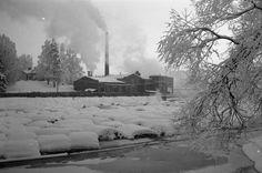 tehdas savuttaa talvisella Juankoskella; Eskelinen, Esko