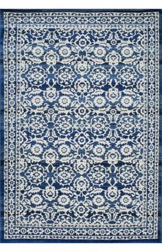 Rugs USA Bosphorus BD05 Dark Blue Rug