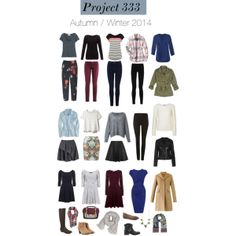 Project 333- Autumn / Winter