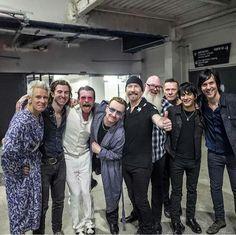Eagles of Death Metal and U2- Paris 2015