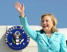 Secretary Of State Hillary Clinton...