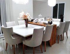 Mais um trabalho deslumbrante da @jequitiba_madeiras_e_moveis. Que mesa MARAVILHOSA! Laca + madeira dando um contraste lindo! Sou fã dos móveis deles, recomendo vocês a conhecerem @JEQUITIBA_MADEIRAS_E_MOVEIS. Envio para todo o Brasil! ✈️