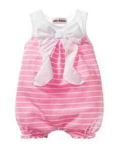 Juicy Couture Bow Onesie