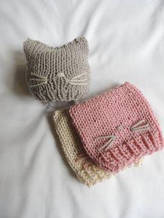 Kitty Beanie Luv Beanies Kitty hats Animal hats Cat