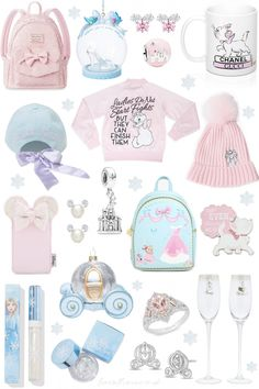 The Ultimate Princessy Christmas Gift Guide - Love Catherine Cinderella Pumpkin Carriage, New Cinderella, Winter Princess, Pink Princess, Christmas Gift Guide, Pink Christmas, Christmas Feeling, Disney Princess Gifts, Minnie Mouse Pink